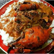 legume cuisin diri ak sauce pois with legume et crab haitian food favorites