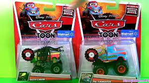 100 Monster Truck Mater Cars Toons Toys Tormentor Frightning McMean