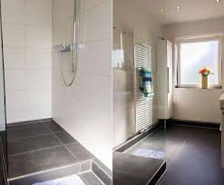 begehbare dusche gut begehbare dusche podest lösung für