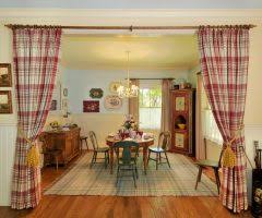 San Francisco Yellow Geometric Curtains With Traditional Wall Mirrors Dining Room Farmhouse And Interior Table