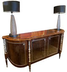 casa padrino luxus barock sideboard braun silber 240 x 62 x h 100 cm edler wohnzimmer schrank mit 4 türen barock möbel