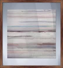 SALT PLAINS I Glass Wall Art Framed