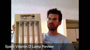 Uvb Lamp Vitamin D3 by Sperti Vitamin D Lamp Review Youtube