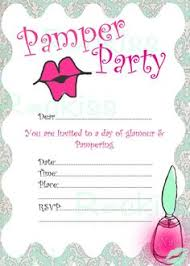 Pamper Party Invitations Invitation Template Design Ideas And Inspiration For The Alluring 12