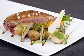 cuisiner le magret recette de magret de canard piqué à l armagnac grenailles