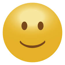 3D Smile Emoticon Emoji Transparent PNG