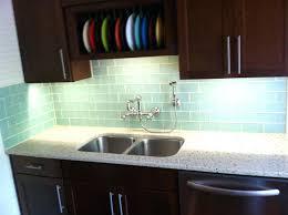 glass kitchen backsplash tiles green glass subway tiles with small