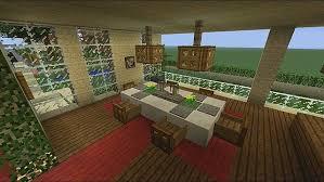 Minecraft Modern Living Room Ideas by Architecture Mesmerizing Minecraft Dining Area Interior Design