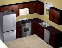 Wonderful Small Kitchen Design Layout 10x10 Photograph