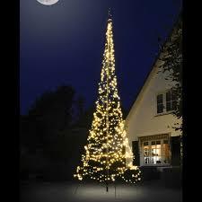 Fairybell Flagpole Christmas Tree Lights