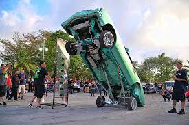 2017 Miami Lowrider Super Show Hopping Monte Carlo - Lowrider