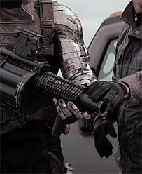 My Gifs Yup Bucky Barnes Winter Soldier Metal Arm Agentwidovv Just Because I Could Holy Shit