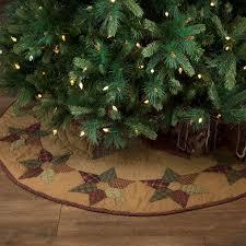 Burlap Vintage Christmas Mini Tree Skirt The Weed Patch