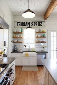 Joanna Gaines Age With Farmhouse Kitchen And
