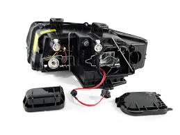 2002 2005 black xenon headlights audi a4