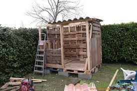 Garden Shed Made With Pallets