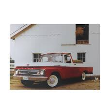 100 Classic Truck Central LED Lighted 1962 Ford F100 Canvas Wall Art 12 X 1575