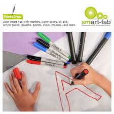 Decorating Fabric With Sharpies by Smart Fab Disposable Fabric Rolls
