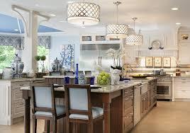 fabulous blue accents blue ceiling large kitchen island pendant