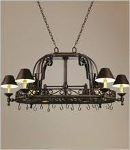 kitchen pot racks with lights decorating clear