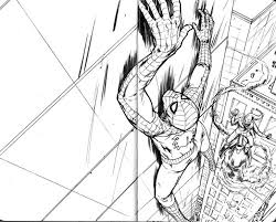 Spider Man Coloring Pages Amazing Spiderman Pdf Superhero