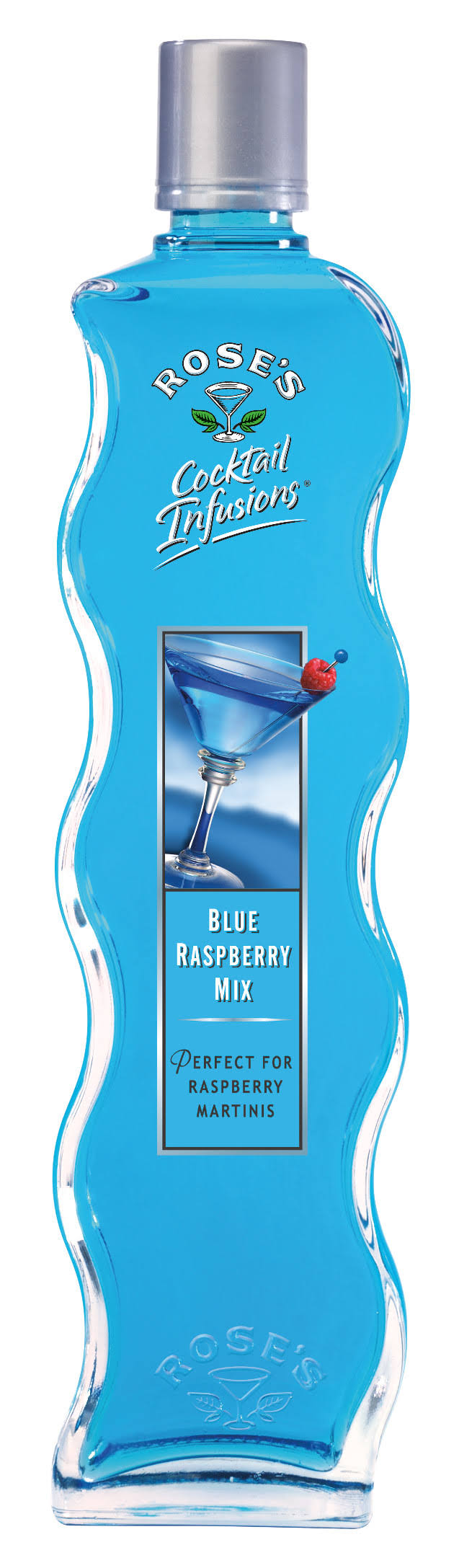 Rose's Cocktail Infusions Blue Raspberry Mix - 20 oz