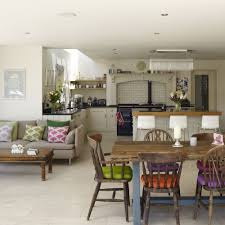 Kitchen Open Plan Living Room Extension Ideas Dining Layouts