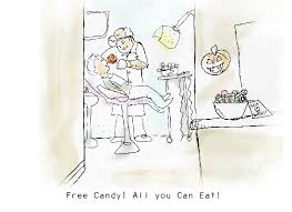 Free Halloween Ecards by Myfuncards Bad Dentist Send Free Holidays Ecards Halloween