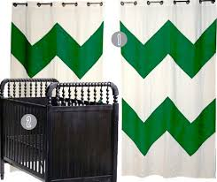 White And Gray Striped Curtains by Green And White Curtains Home Design Ideas And Pictures