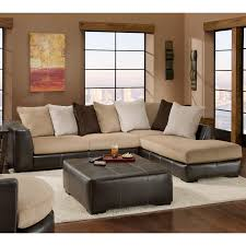 Brown Corduroy Sectional Sofa by Chelsea Home Amherst 2 Piece Sectional Sofa Walmart Com