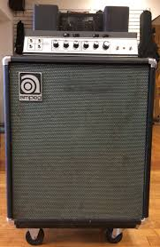 Ampeg V4 Cabinet Ohms by Amplifiers
