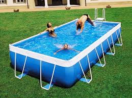 The Swimming Pool For Exercise And Recreation