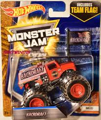 HOT WHEELS MONSTER JAM 2017 TEAM FLAG BACKDRAFT MUD [0003973 ... Untitled1 Hot Wheels Monster Trucks Wiki Fandom Powered By Wikia Jam Team Firestorm Freestyle In Anaheim Ca Amazoncom Diecast 2016 164 Revs Up For Second Year At Petco Park Sara Wacker Apr Wheel Mutants J And Toys 2017 Case E March 3 2012 Detroit Michigan Us The