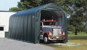 100 Truck Shelters 36ftL X 14ftW X 16ftH Large Peak Style Garage And Storage Shelter