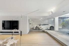 100 This Warm House Contemporary White Walls With Light Wooden Flooring Make This Hong