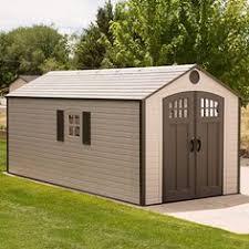 amazon com lifetime 8 feet x 12 5 feet storage shed 6402