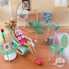 new summer computer room living room set for barbie doll fashion