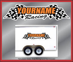 Custom Your Name Racing Decals Trailer Graphics Kit Stock Track Drag ... Monster Jam Giant Wall Decals Tvs Toy Box Bigfoot Truck Body Wdecals Clear By Traxxas Tra3657 Stickers Room Decor Energy Decal Bedroom Maxd Pack Decalcomania 43 Sideways Creative Vinyl Adhesive Art Wallpaper Large Size Funny Sc10 Team Associated And Vehicle Graphics Kits Design Stock Vector 26 For Rc Cars M World Finals Xvii Competitors Announced All Ideas Of Home Site Garage Car Unique Gift