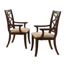 HomeSullivan Hampton Espresso Dining Chair 402546A[2PC] - The Home Depot Timothy Oulton Mimi Ding Chair With Arms Weathered Oak Legs Fairfield Chairs Contemporary Room Arm Gallatin Ding Arm Chair From Caste Architonic Elegant French Style High Back Cream Walnut Fabric Alice Armrest Villa Cortina Leather By Universal At Hudsons Fniture Amazoncom Modern Solid Wood Swivel Casual Dafny Country Empire Camel Co Black Steel Base Dakar 0842 Seatdark Stained Warms