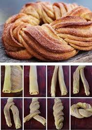 recette tresse fourrée au nutella gâteaux nutella