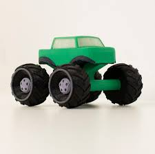100 Mini Monster Trucks Free STL File Multicolor Truck Cults