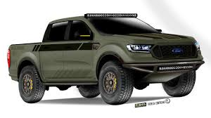 100 Ford Concept Truck Readies Ranger For SEMA With 7 Rugged S UPDATE