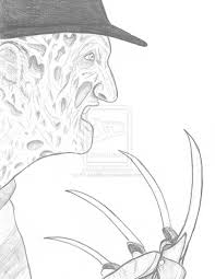 Printable Freddy Krueger Pumpkin Stencils by Krueger Pumpkin Stencils