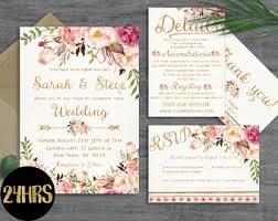 Etsy Wedding Invitation Template For Divine With Creative Templates 13