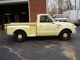 1967 Chevrolet Short Bed Step Side Pick Up Truck,mostly Original Paint