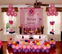 Simple Birthday Party Table Decorations Decoration At Home