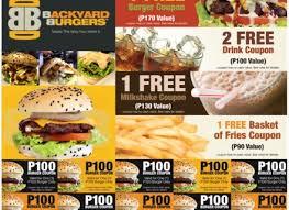 Backyard Burger Menu MustHaveMenus Restaurant Ideas Gogo Papa