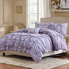 purple ruffle comforter set purple bedding pinterest ruffled