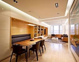 Gorgeous Living Room Long Narrow Dining Design With Rectangle Decorate Small Combo