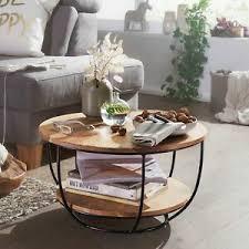 details zu finebuy couchtisch 60 cm wohnzimmertisch holz massiv sofatisch tisch wohnzimmer